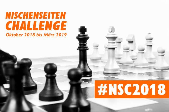Nischenseiten-Challenge 2018 #NSC2018