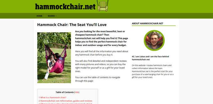 NSC2018 hammockchair.net