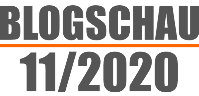 Blogschau 20/11: Video-Tools, Footer-Links, Google Analytics