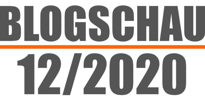 Blogschau 20/12: Newsletter, Linkbuilding, Datenschutz, Ladezeit