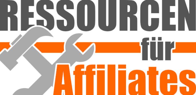 Ressourcen für Affiliates: Hosting, Plugins, Tools, Bilder