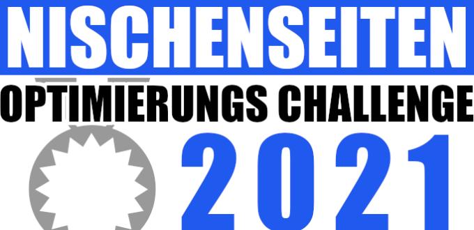 Nischenseiten Optimierungs Challenge 2021: 4 Wochen Power
