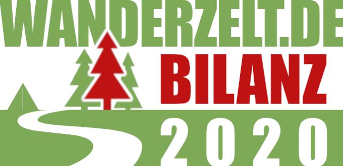 wanderzelt.de Bilanz 2020: Nischenseite macht 1.400 Euro